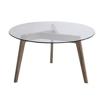 Творческое зеркало круглый стол Закаленное стекло