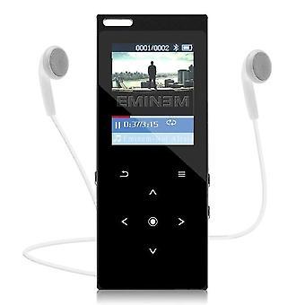 MP3-spelare med högtalar metal HIFI-musikspelare