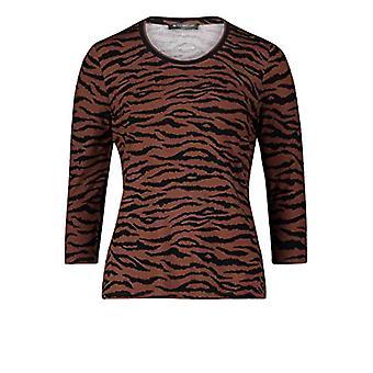 Betty Barclay 2273/1604 T-Shirt, Brown/Black, 42 Woman