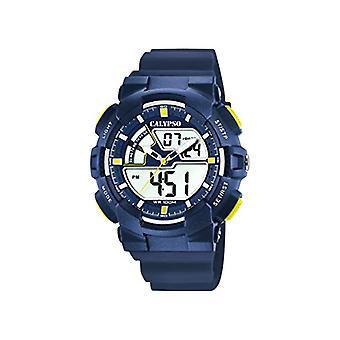 Calypso Uhren Analog-Digital Quarz Männer mit Kunststoff-Umreifungsband K5771/3