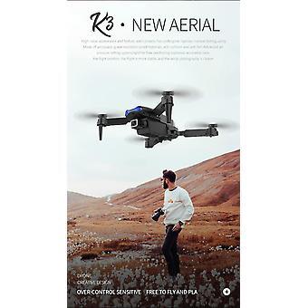 E99 PRO RC drone 4K HD Cámara dual GPS WiFi FPV Plegable automático Retorno| RC Helicópteros