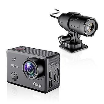 """המקורי G3 Duo 2k 12mp 2160p פעולה ספורט מצלמה ג'ירו פוב 170 מעלות 2.0"""""""