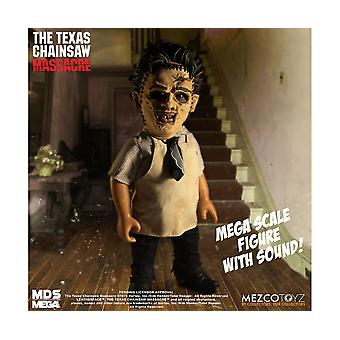 Leatherface Mezco Designer Series (Mega Scale) with sound Figure from Texas Chainsaw Massacre