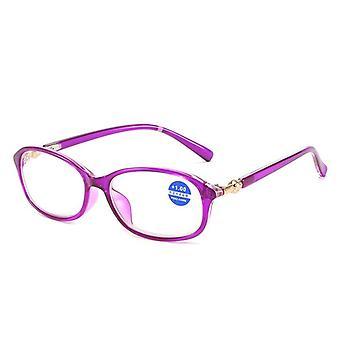 Women's reading glasses blue light blocking anti eyestrain rg-27