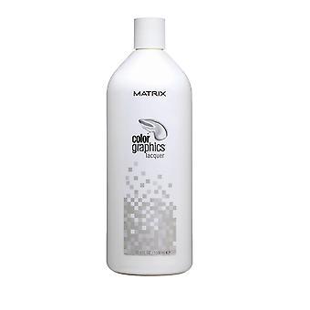 マトリックスカラーグラフィックヘアラッカーカラー1000ml透明半パーマネント