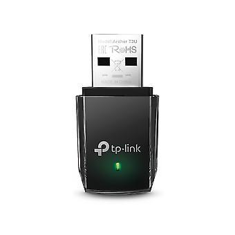 Adattatore Mini USB wireless a doppia banda TP-LINK (ARCHER T3U) AC1300 (867 400), MU-MIMO, USB3