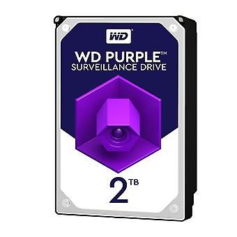 WD Fialový WD20PURZ 2TB 3,5 palce 5400 ot/min 64MB cache SATA III Surveillance Interní pevný disk