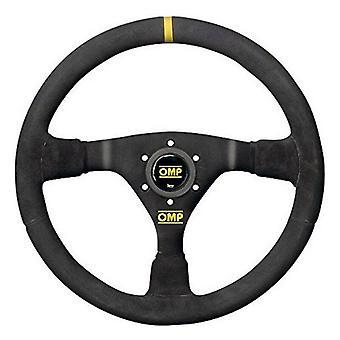 Racing Steering Wheel OMP Suede Black