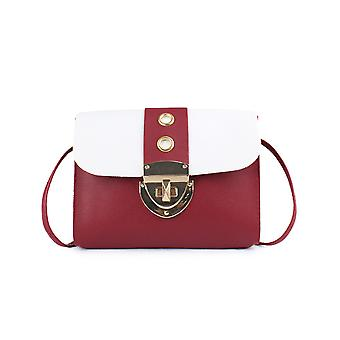 Square Shoulder Bag With Rings