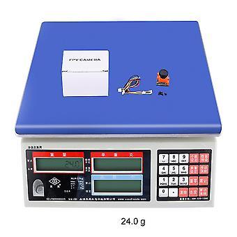 Super Mini Aerial Fpv Camera 600tvl Obiettivo 2.1mm Dc 5-36v Osd W/ir Bloccato Pal