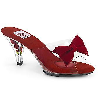 Pin Mujeres's Zapatos Arriba Clr-Red/Clr
