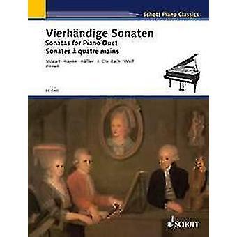 Sonatas for Piano Duet piano (4 hands)