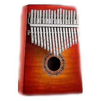Калимба Большой палец фортепиано 17 ключей Портативный музыкальный инструмент для исполнения