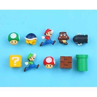 3d Super Mario Bros Fridge Magnets