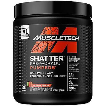 Shatter Pumped8 Pre-Workout, Gummy Burst - 243 grams