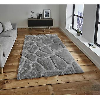 Noble House Pebbles 5858 silver  Rectangle Rugs Plain/Nearly Plain Rugs