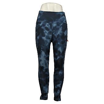 Danskin Women's Pants Ladies' Super Soft 7/8 Legging Blue