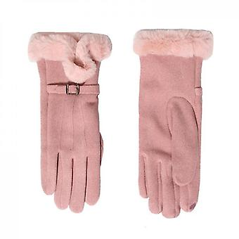 Winter Warm And Cold Protection Gloves Pink