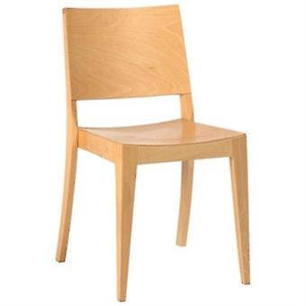 Hasmo Beech Wooden Frame Kitchen Dining Chair Fully Assembled