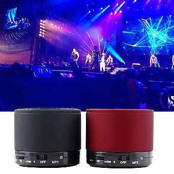 New Bluetooth Metal Wireless 3w Hifi Mini Handsfree Portable Speaker Mic