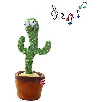 Cactus Peluche Juguetes Electronic Dancing Cactus, cantando juguetes de educación de la primera infancia