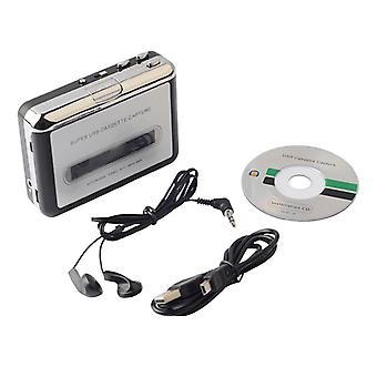 Kassettenspieler Kassette zu MP3 Konverter Capture Audio Musik Player Konvertieren Sie Bandkassette auf Band zu PC Laptop über USB