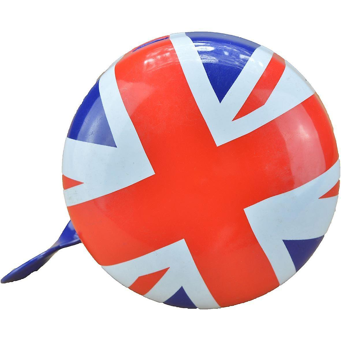 Kiddimoto Large or Small Cycle Bell Union Jack