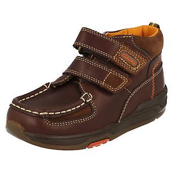 Clarks Boys Ankle Boots Iced