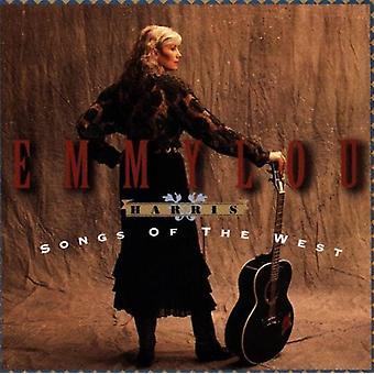 Emmylou Harris - canções da importação EUA oeste [CD]