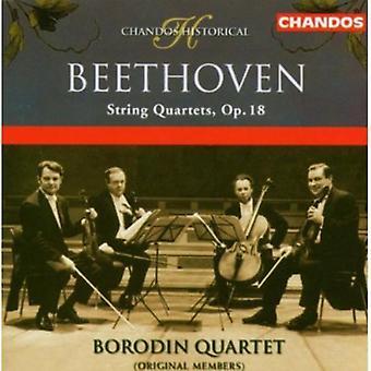 L.V. Beethoven - Beethoven: stråkkvartetter, Op. 18 [CD] USA import