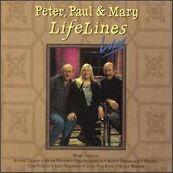 Peter Paul & Mary - importation USA Lifelines Live [CD]