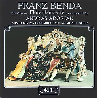 F. Benda - Benda: Flute Concertos [CD] USA import