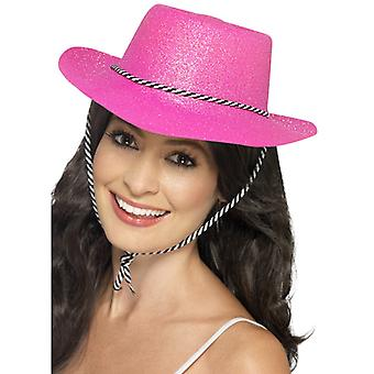 Cowboy hat glitter NEON PAL part hat af glitter party hat