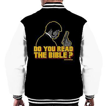 The Shepherd Jules Winnfield Pulp Fiction Men's Varsity Jacket
