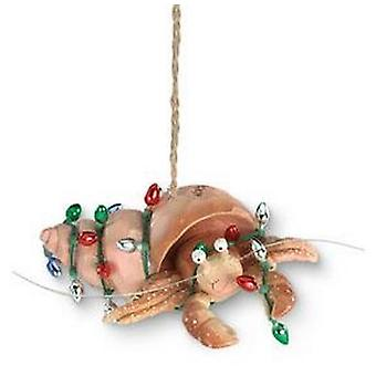 Beachy kust vakantie heremietkreeften verpakt in Vakantiewoningen bollen kerst Ornament