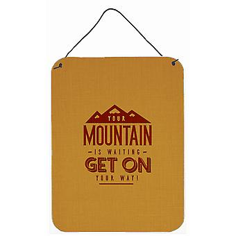 The Mountain is Waiting Wall or Door Hanging Prints