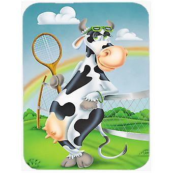 Carolines skatter APH0533MP Ko spelar Tennis musmatta, Hot Pad eller Grytunderlägg