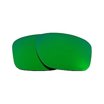 Replacement Lenses for Oakley Sliver XL Sunglasses Green Mirror Anti-Scratch Anti-Glare UV400 by SeekOptics