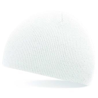 Beechfield Multi väri vedä akryyli neulottu hattu