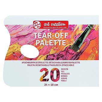 Talens Art Creation Tear-Off Painting Palette (20 Sheets)