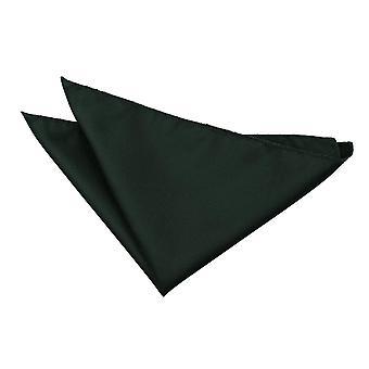 Dunkel grün Solid Check Einstecktuch