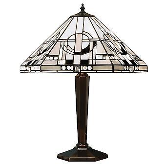 Lampe de Table lumineuse 2 métropolitaine intérieurs 1900 avec Monochrome A