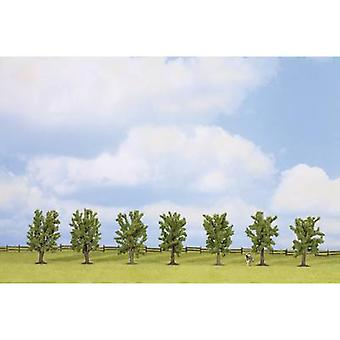NOCH 25088 Tree set Broadleaf forest 80 up to 80 mm Green 7 pc(s)