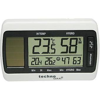 Techno Line WS 7007 Solar Thermometer/ Hygrometer