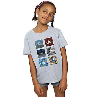 Pink Floyd dievčatá zmiešané hranoly T-shirt