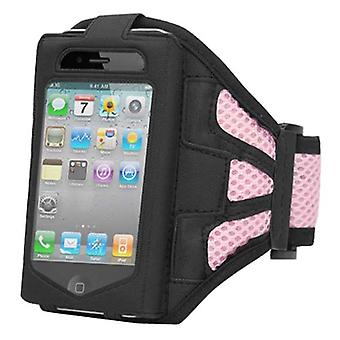 TRIXES Sports kjører rosa Armband for Apple iPhone 4 / 4G