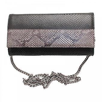 Peter Kaiser Hilara 2 Tone Clutch Handbag