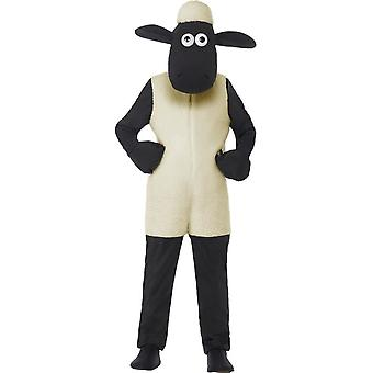 Shaun The Sheep Kids Costume, Small Age 4-6