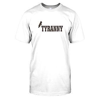CCTV tyranni - konspiration Mens T Shirt