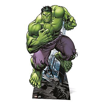 ハルクの Lifesize 段ボール切り欠き/立ち/立ち上がり - マーベル アベンジャーズ スーパー ヒーロー